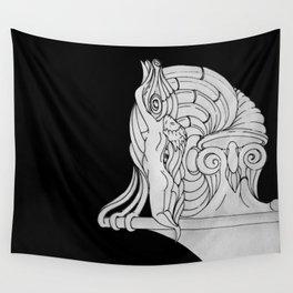 Ivory Tower (v3) Wall Tapestry