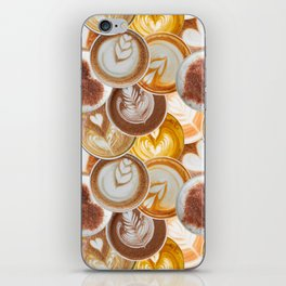 Lotta Lattes iPhone Skin
