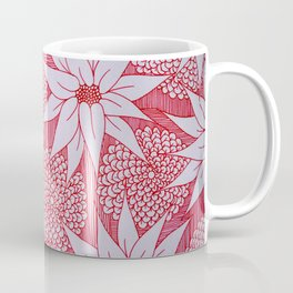 Red drawing Coffee Mug