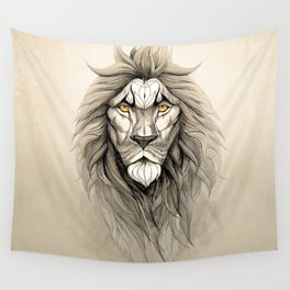 The Lion Wall Tapestry