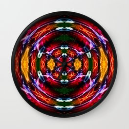 DNA Crystal Ball Wall Clock