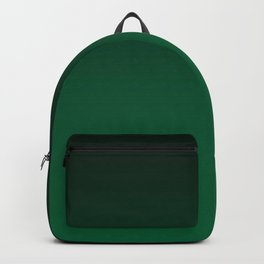 Green , gradient Backpack