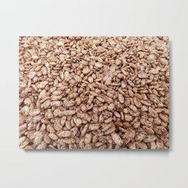 cereal texture Metal Print
