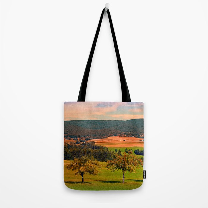 Two rival trees Tote Bag