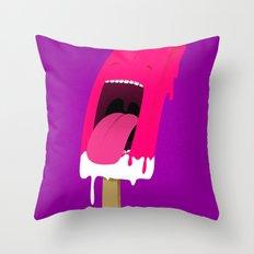 iScream Throw Pillow