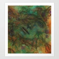 Come Autumn's Scathe Art Print