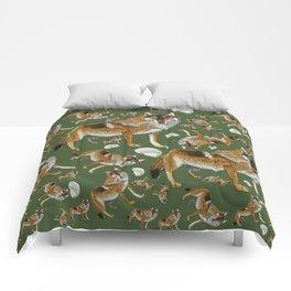 Totem Carpathian wolf Comforters