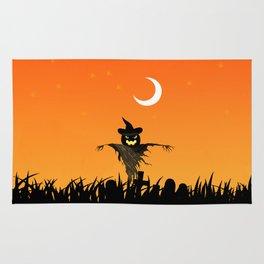 Nightmare Halloween Starry Night Rug