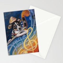 Jazz to the Bone Stationery Cards