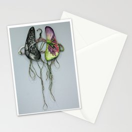 Lungs on Hanger Stationery Cards