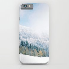 White Forest - French Alps iPhone 6s Slim Case
