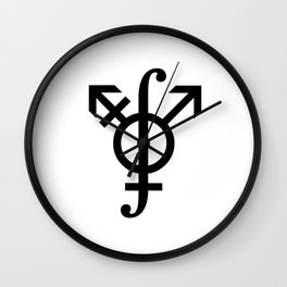Path Integral on the Gender Manifold Wall Clock