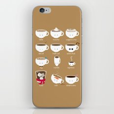 Know Your Coffees iPhone & iPod Skin