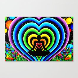 Love's Connection Canvas Print