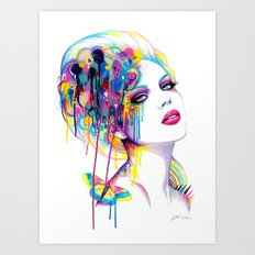 -In a perfect world- Art Print