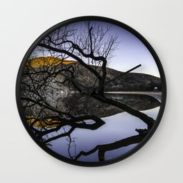Lough Tay, Wicklow Mountains Wall Clock