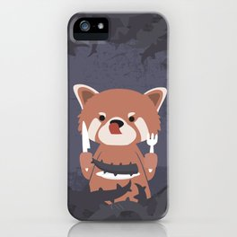 Hungry Raccoon iPhone Case
