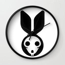 Dead bunny can't jump Wall Clock