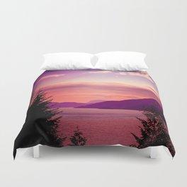 Sunset Sea to Sky Duvet Cover