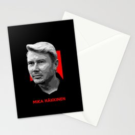 Formula One - Mika Hakkinen Stationery Cards