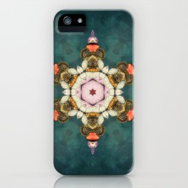 butterfly Medallion iPhone Case