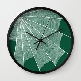 The spider's house #3 Wall Clock