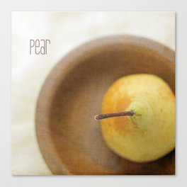Pear Canvas Print