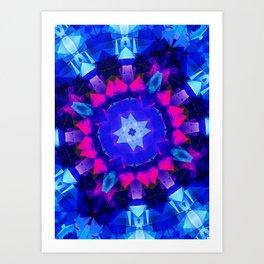 iDeal - Crystal Flower Art Print