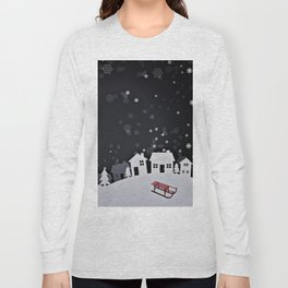 RED SLED Long Sleeve T-shirt