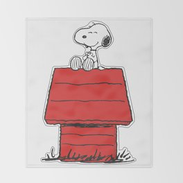 Snoopy Throw Blanket
