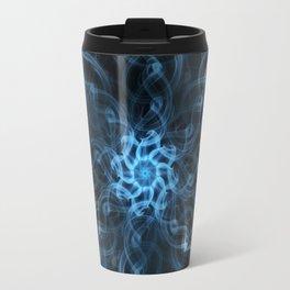 Smoke patterns - Cold as ice Travel Mug