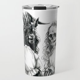 My cute and evil BFF part III Travel Mug