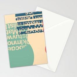 gum letter Stationery Cards