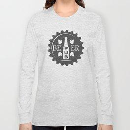 Pub Craft Beer Bottles style Fashion Modern Design Print! Long Sleeve T-shirt