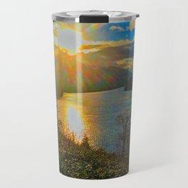 Columbia River Gorge, Sunset Travel Mug