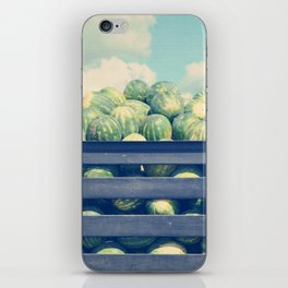watermelons and sky iPhone Skin