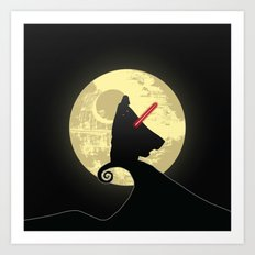 Vader's Nightmare Before Art Print