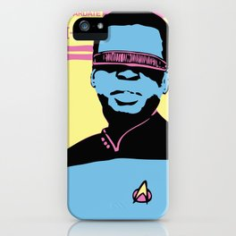 Mr. La Forge iPhone Case
