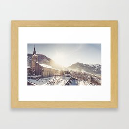 Châtel Framed Art Print