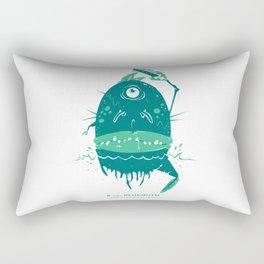 B is for Behemoth Rectangular Pillow
