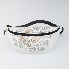 Christmas Pine Fanny Pack