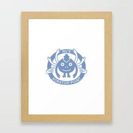 Nu's Scratch-Point (Chrono Trigger) Framed Art Print