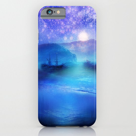 Fantasy in Blue. iPhone & iPod Case