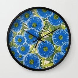 Atomic Daisies Wall Clock