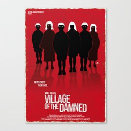 Village Of The Damned (New Version-Red Collection) Canvas Print