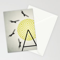 Flywheel (A is for Airplane) Stationery Cards