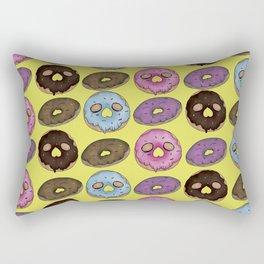 Yellow donuts Rectangular Pillow