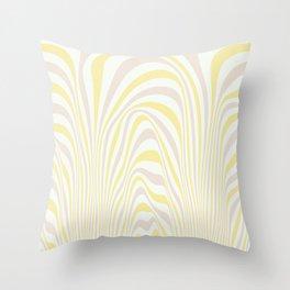 Polar Dunes Throw Pillow