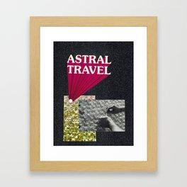 astral travel Framed Art Print