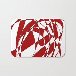 Abstract doodle Bath Mat